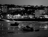 St Ives Cornwall at night